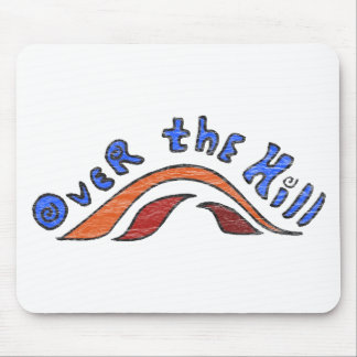Over The Hill 50th Birthday Gifts Mousepad