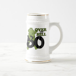 Over The Hill 50th Birthday Mugs
