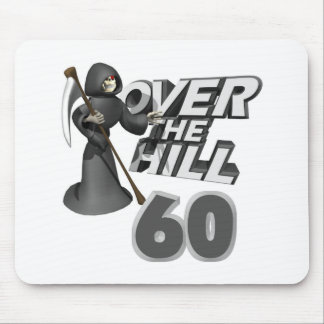 Over The Hill 60th Birthday Gift Mouse Pads