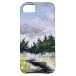 Over the Hill and Ove the Mountains Design iPhone 5 Cases