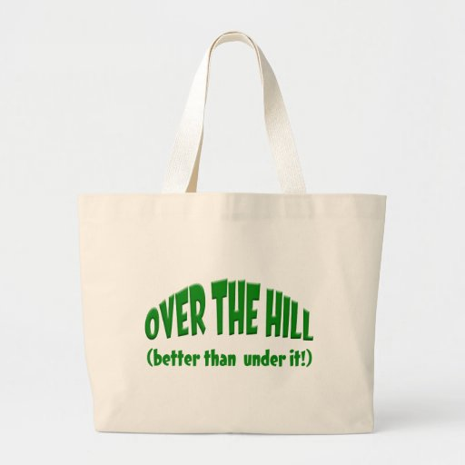 Over the Hill Canvas Bags