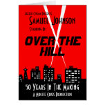 Over The Hill Birthday