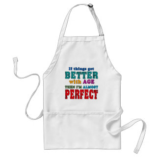 Over the Hill Birthday Humor Standard Apron