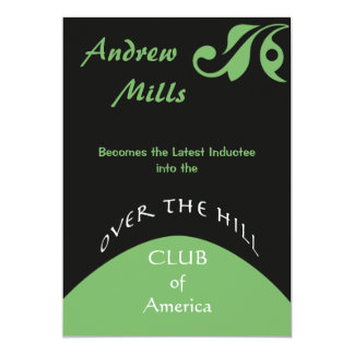 Over the Hill - Birthday Party Invitation