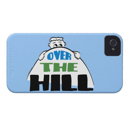 Over the Hill iPhone 4 Case-Mate Case