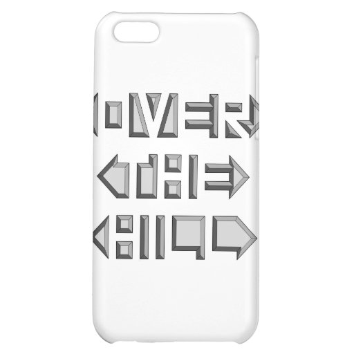 OVER THE HILL iPhone 5C COVER
