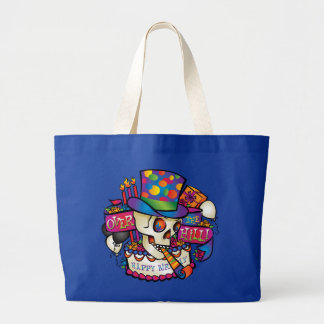 Over the Hill Jumbo Tote Bag