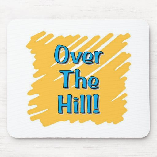 over the hill merchandise mouse mats