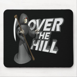 Over The Hill Mouse Pad