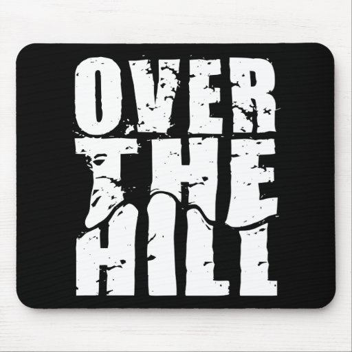 OVER THE HILL MOUSE PADS