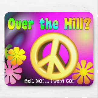 Over the Hill Mousepad - Psychodelic