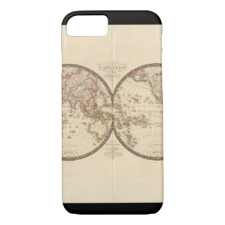 Over the hill World Map 33 iPhone 7 Case