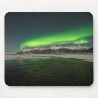 Over the Hills Aurora Mouse Pad