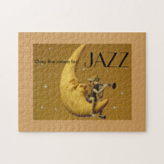 Over the moon for Jazz Jigsaw Puzzle