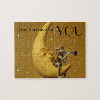Over the Moon for You Jigsaw Puzzle