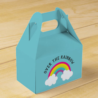 Over The Rainbow Birthday / Shower Favour Box