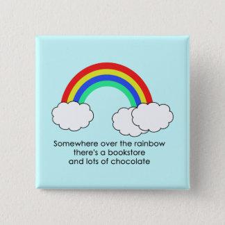Over The Rainbow Button (Light)