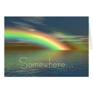 Over the Rainbow Card