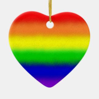 Over the Rainbow Christmas Ornament