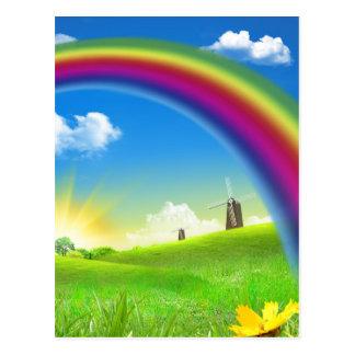 Over The Rainbow Post Card
