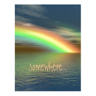 Over the Rainbow Post Cards