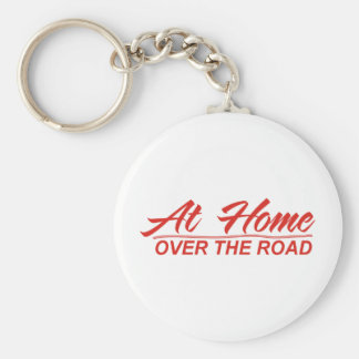 over the road designs 12 basic round button key ring