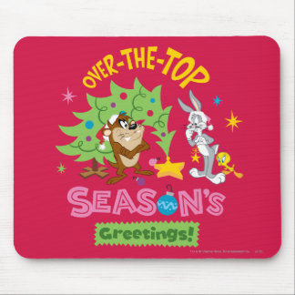Over The Top Season's Greetings Mouse Mat