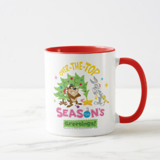 Over The Top Season's Greetings Mug