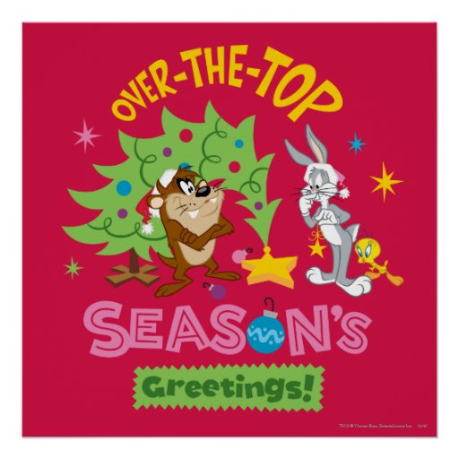Over The Top Season's Greetings Print