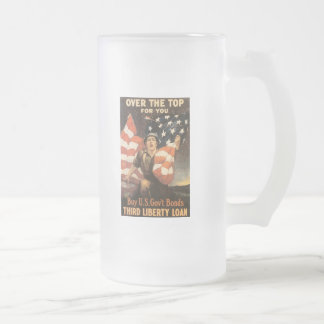 Over The Top  World War 2 Coffee Mug