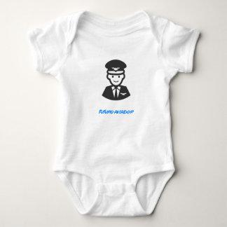 Overalls of Baby - Future Pilot Baby Bodysuit