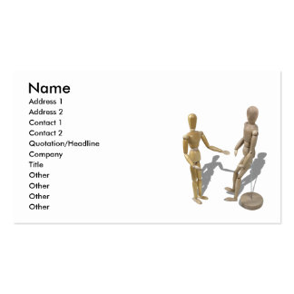 OvercomingLimitations081510, Name, Address 1, A... Double-Sided Standard Business Cards (Pack Of 100)