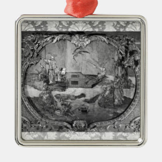 Overdoor panel with chinese subject, c.1730 christmas ornament