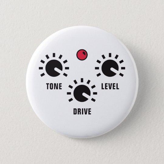 overdrive 6 cm round badge