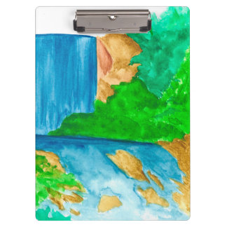 Overflow from the Waterfall Clipboard