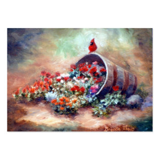 Overflowing Cardinal Art Card Business Cards