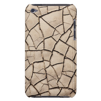 overhead view of cracked earth on a desert iPod touch Case-Mate case
