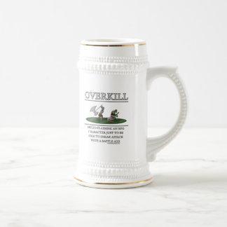Overkill Fantasy (de)Motivator Beer Stein