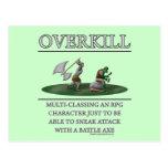Overkill Fantasy (de)Motivator Postcards