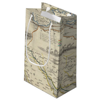 Overland Route To India Small Gift Bag