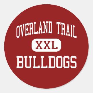 Overland Trail - Bulldogs - Middle - Brighton Sticker