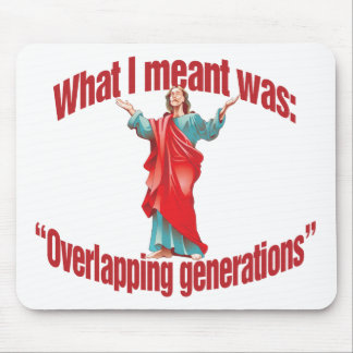 Overlapping Generations Mouse Pad