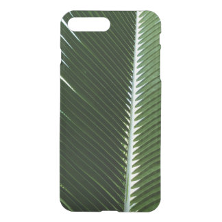 Overlapping Palm Fronds Tropical Green Abstract iPhone 8 Plus/7 Plus Case