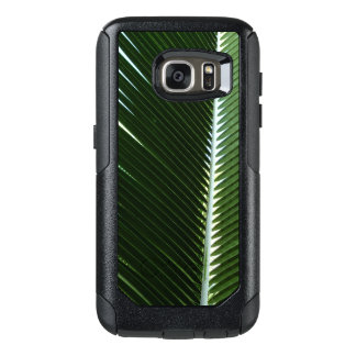 Overlapping Palm Fronds Tropical Green Abstract OtterBox Samsung Galaxy S7 Case