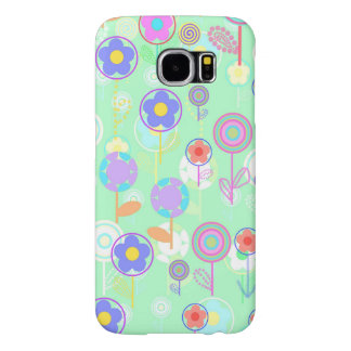 Overlayer Flowers Samsung Galaxy S6 Cases