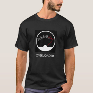 OVERLOADED Audio Meter Shirt