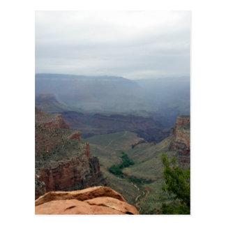 Overlook at Grand Canyon National Park Postcard
