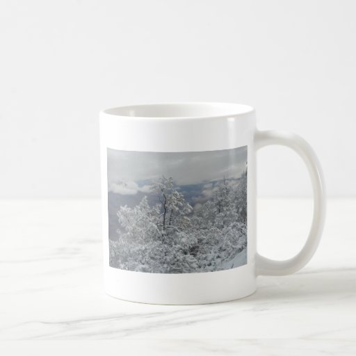 Overlook Grand Canyon National Park Mule Ride Coffee Mug