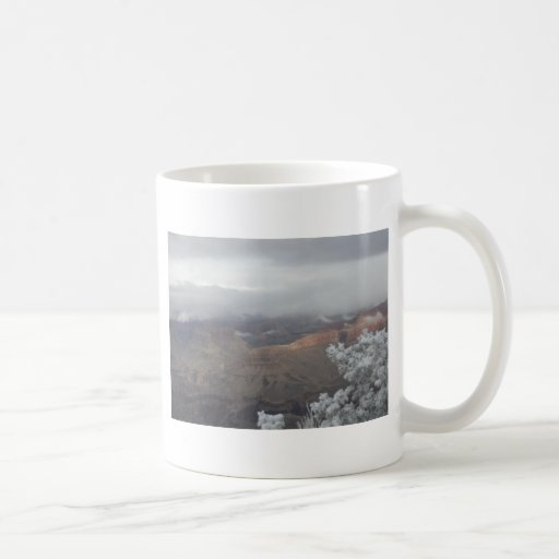 Overlook Grand Canyon National Park Mule Ride Coffee Mugs