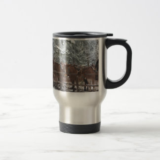 Overlook Grand Canyon National Park Mule Ride Stainless Steel Travel Mug